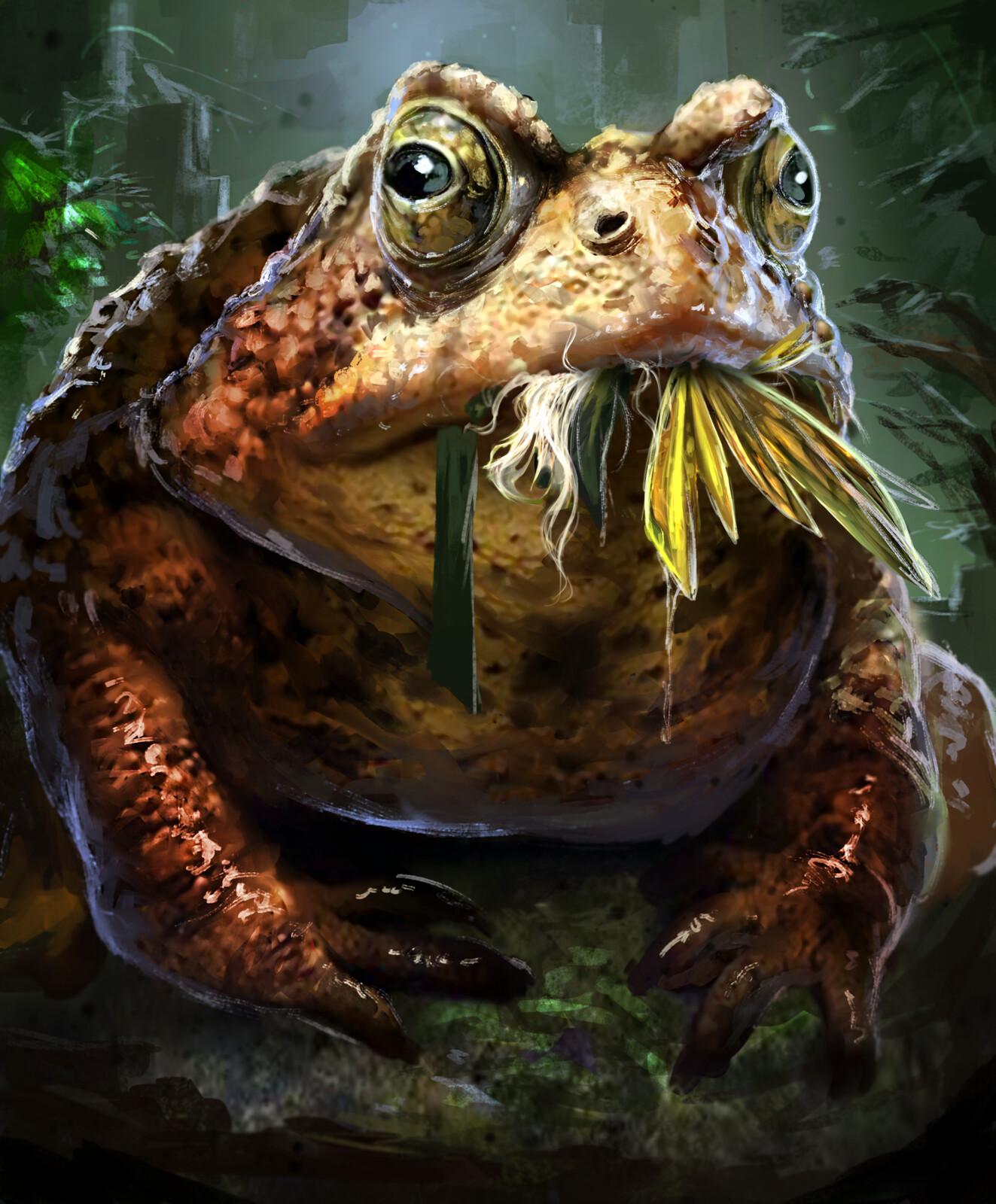 Giant Frog--Arcane Gladiator TCG