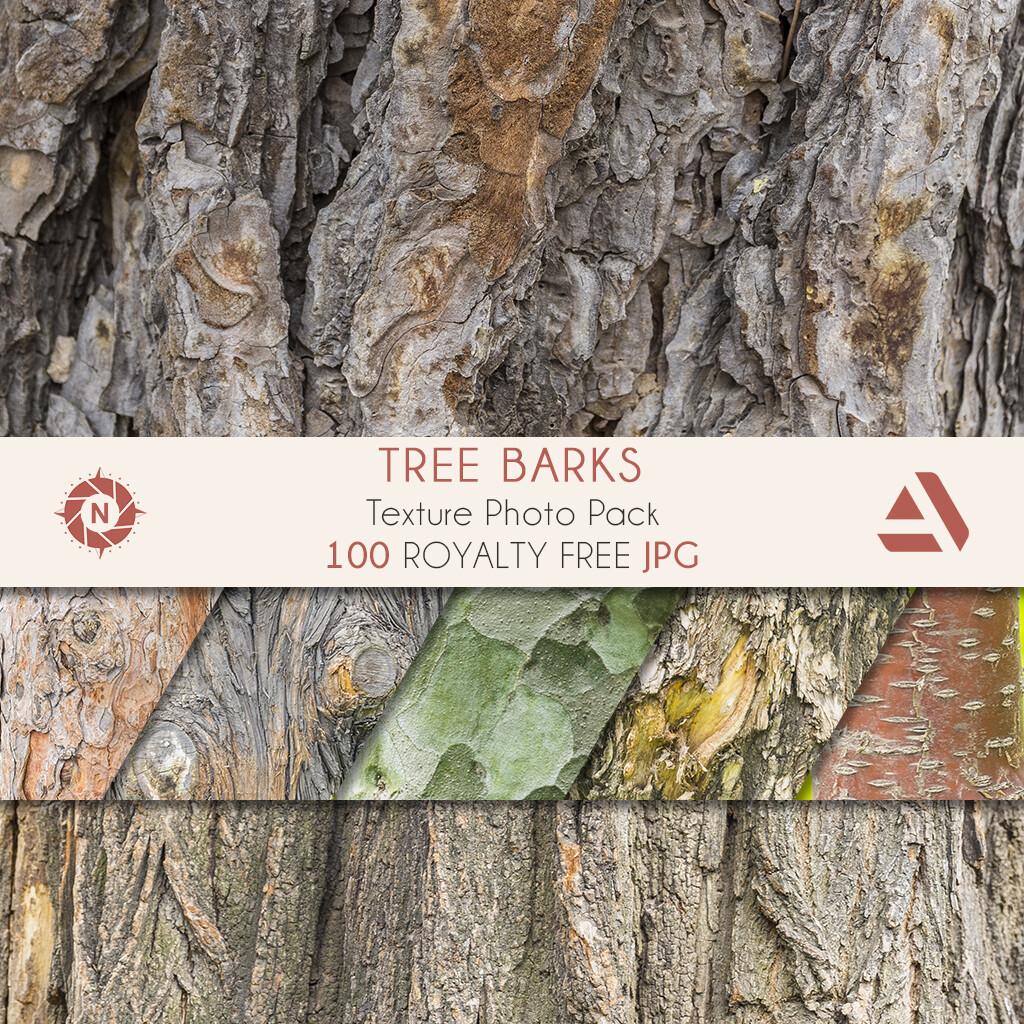Texture Photo Pack: Tree Barks volume 1  https://www.artstation.com/a/165918