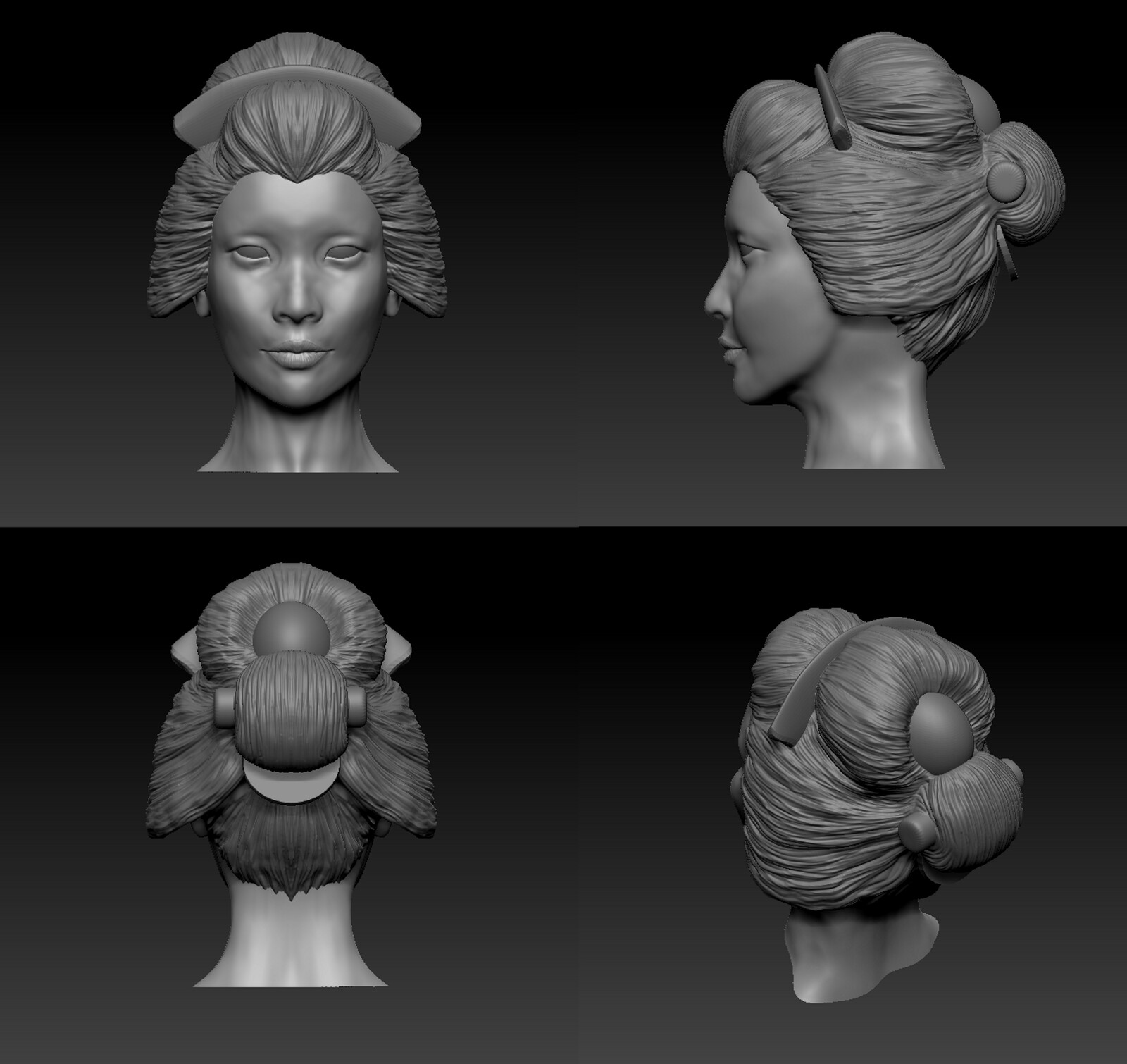 FINAL 3D MODEL OF IZANAMI