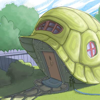 Amir dror tortoise house