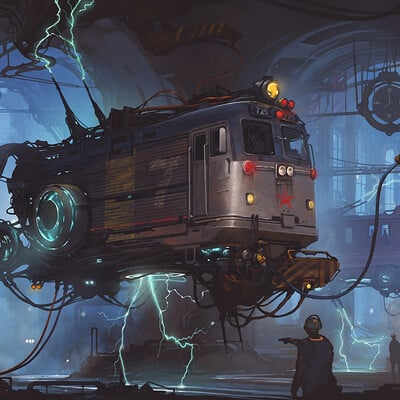 Alejandro burdisio tren workshop final artstation