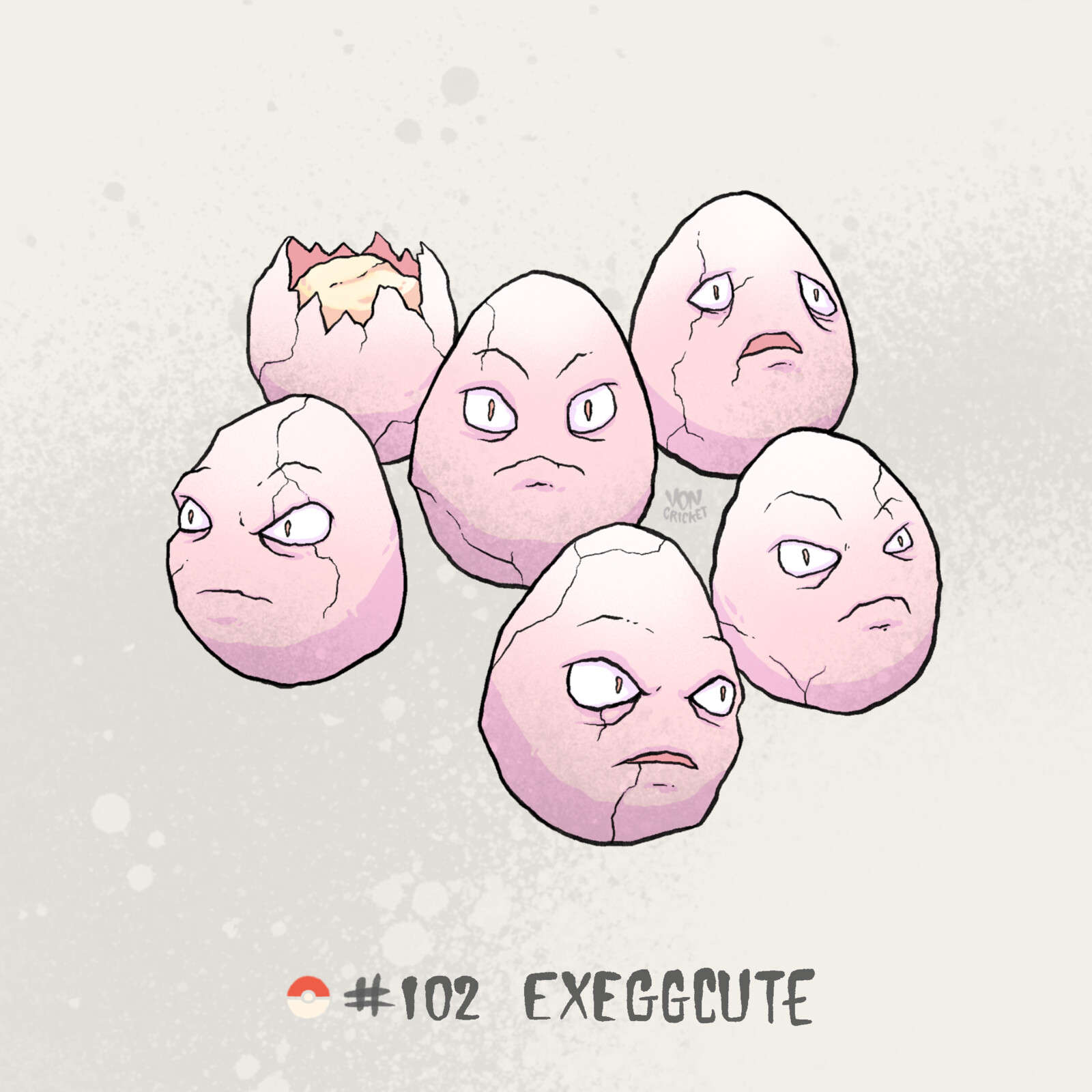 #102 Exeggcute