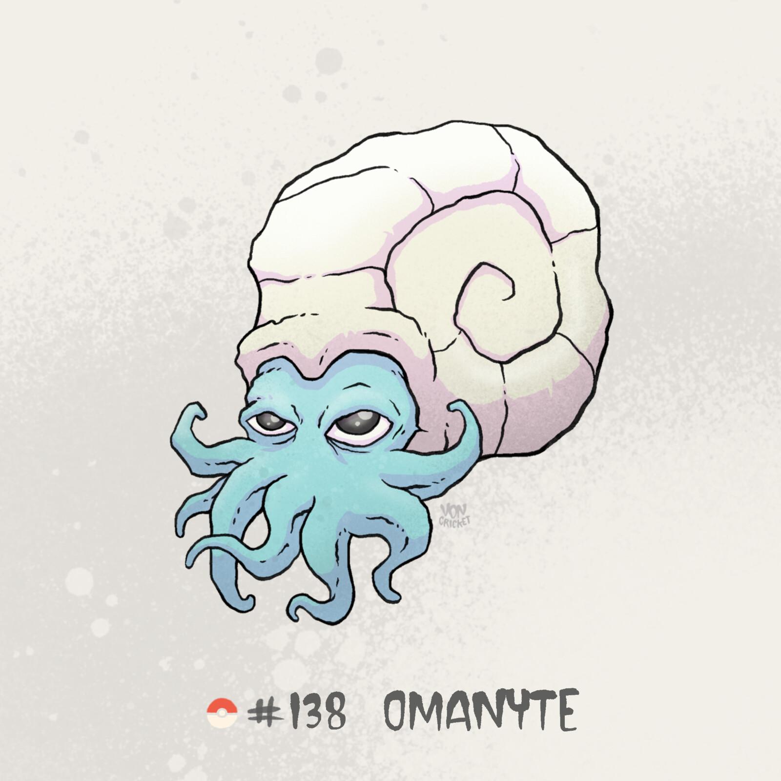 #138 Omanyte