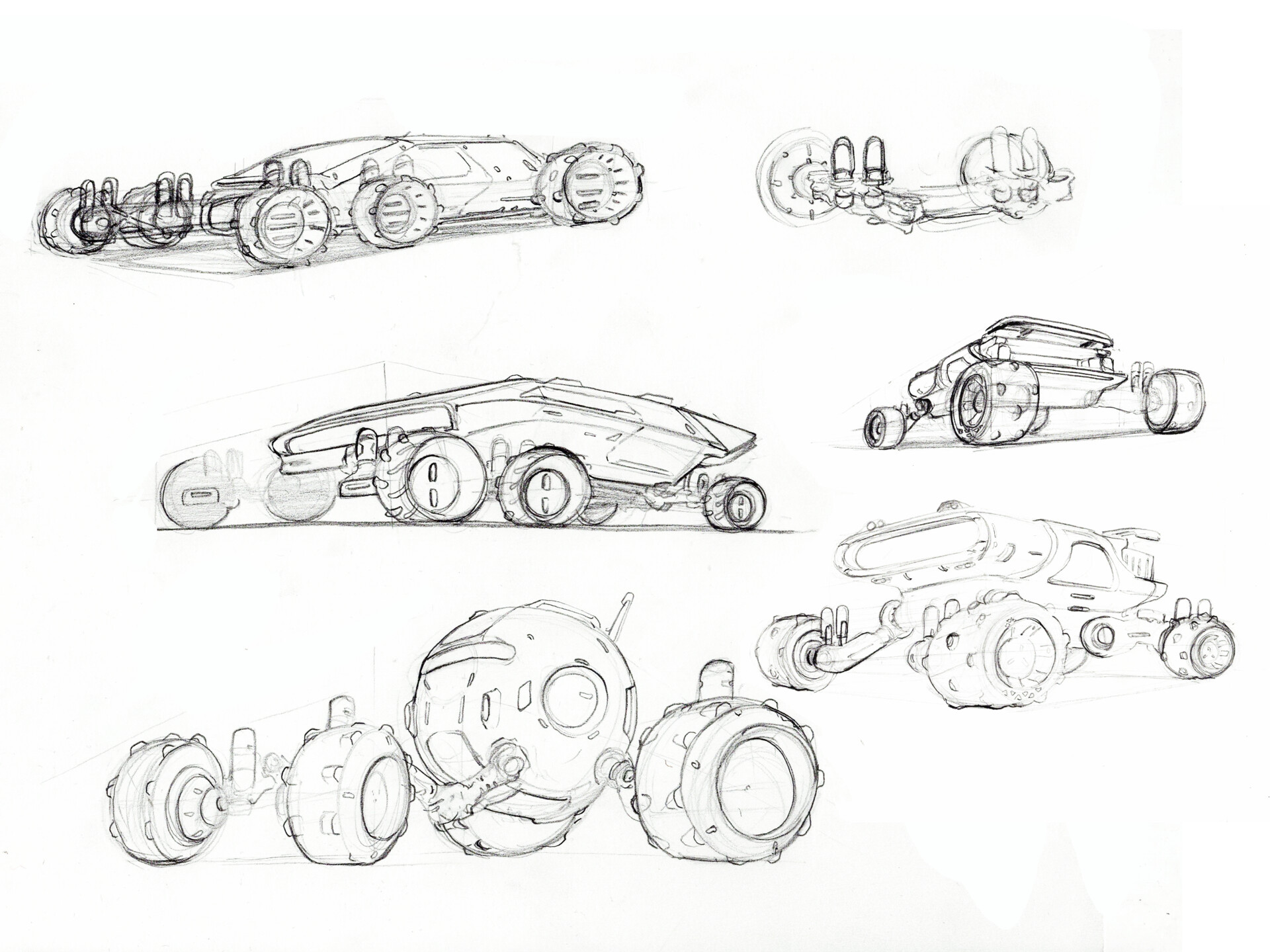 Space Rover Design Continued