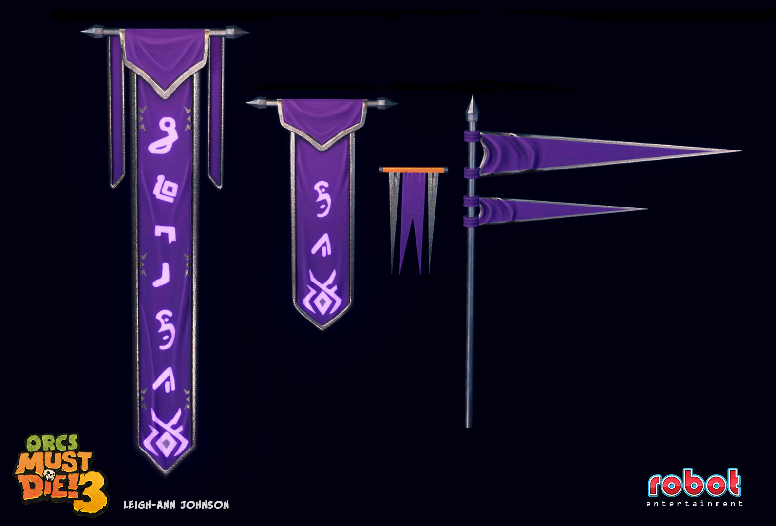 Arcane Banners and Flags