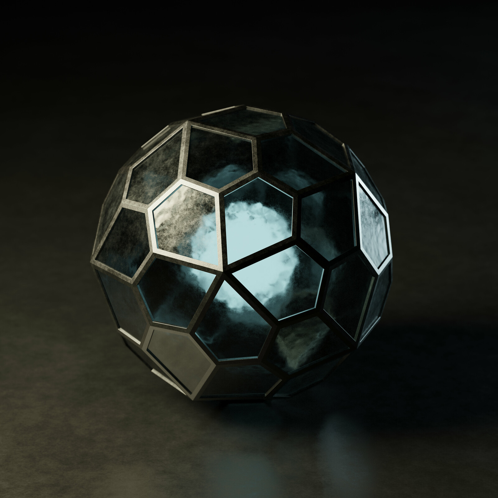 Pentagonal Hexecontahedron v2