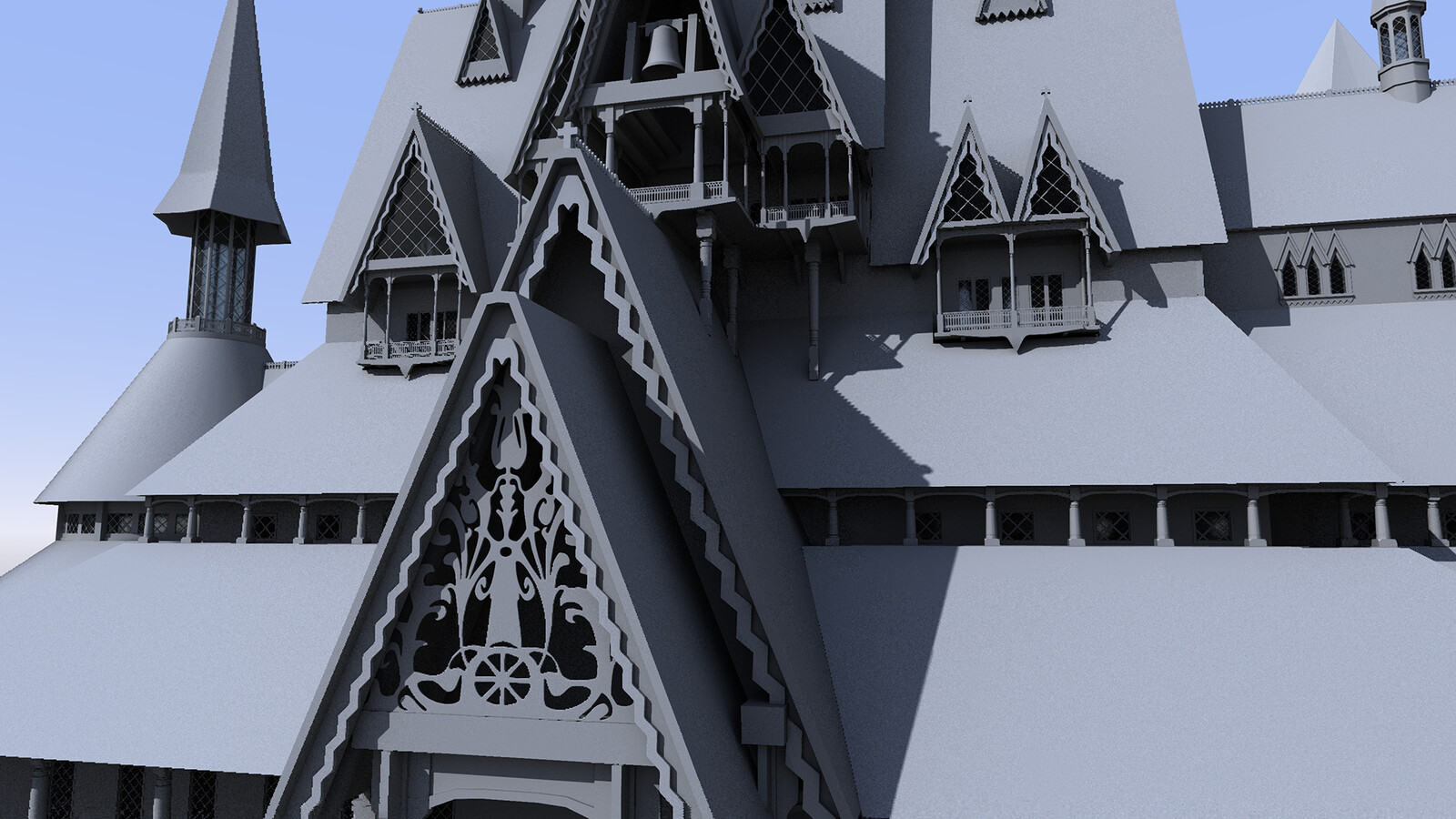 Arendelle - Side building and detail added - CU