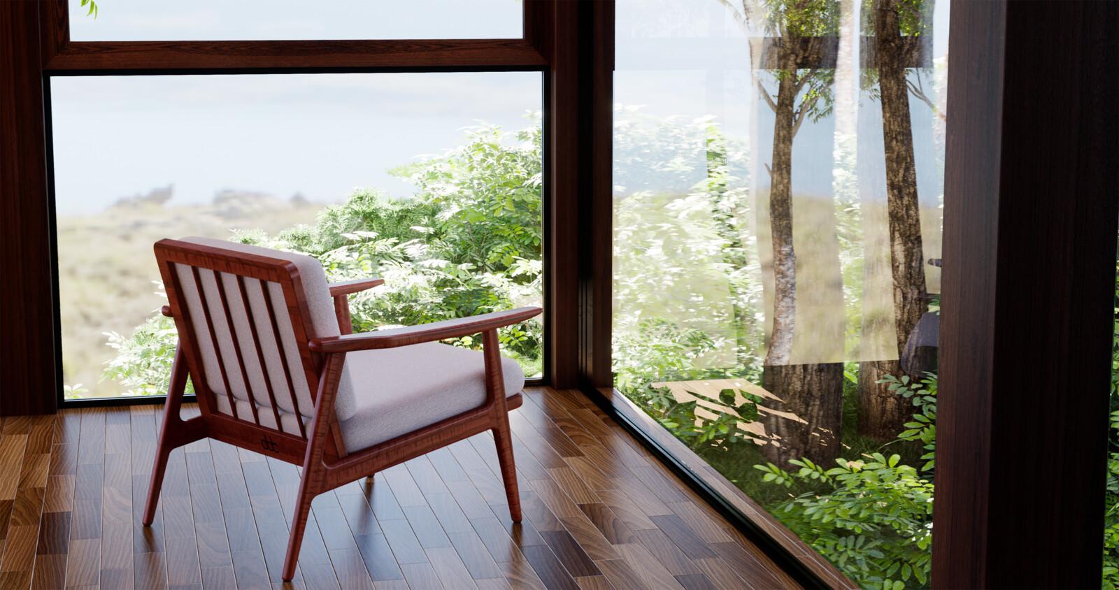 Danish Design Easy Chair