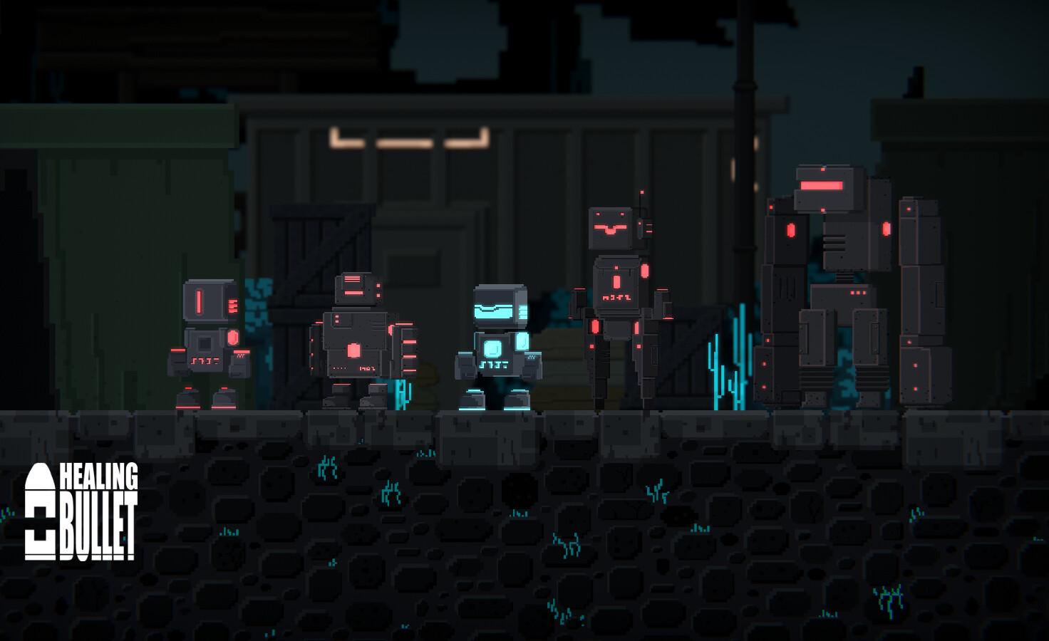 NPCs in-game