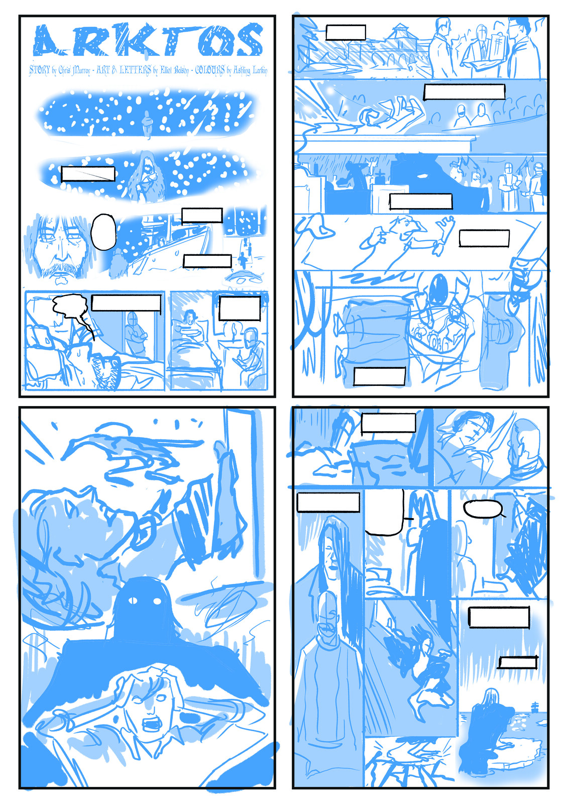 Layout Roughs