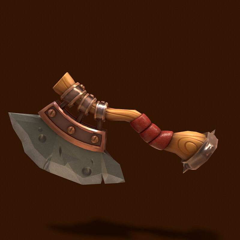 Stylized  Throwing Axe