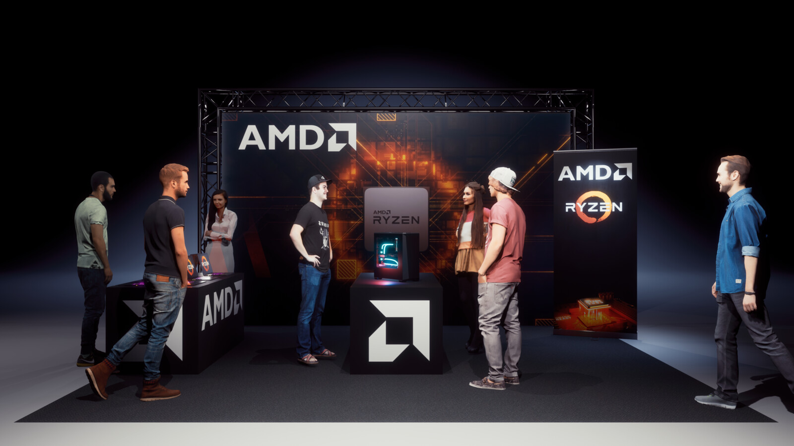 AMD Booth Concept