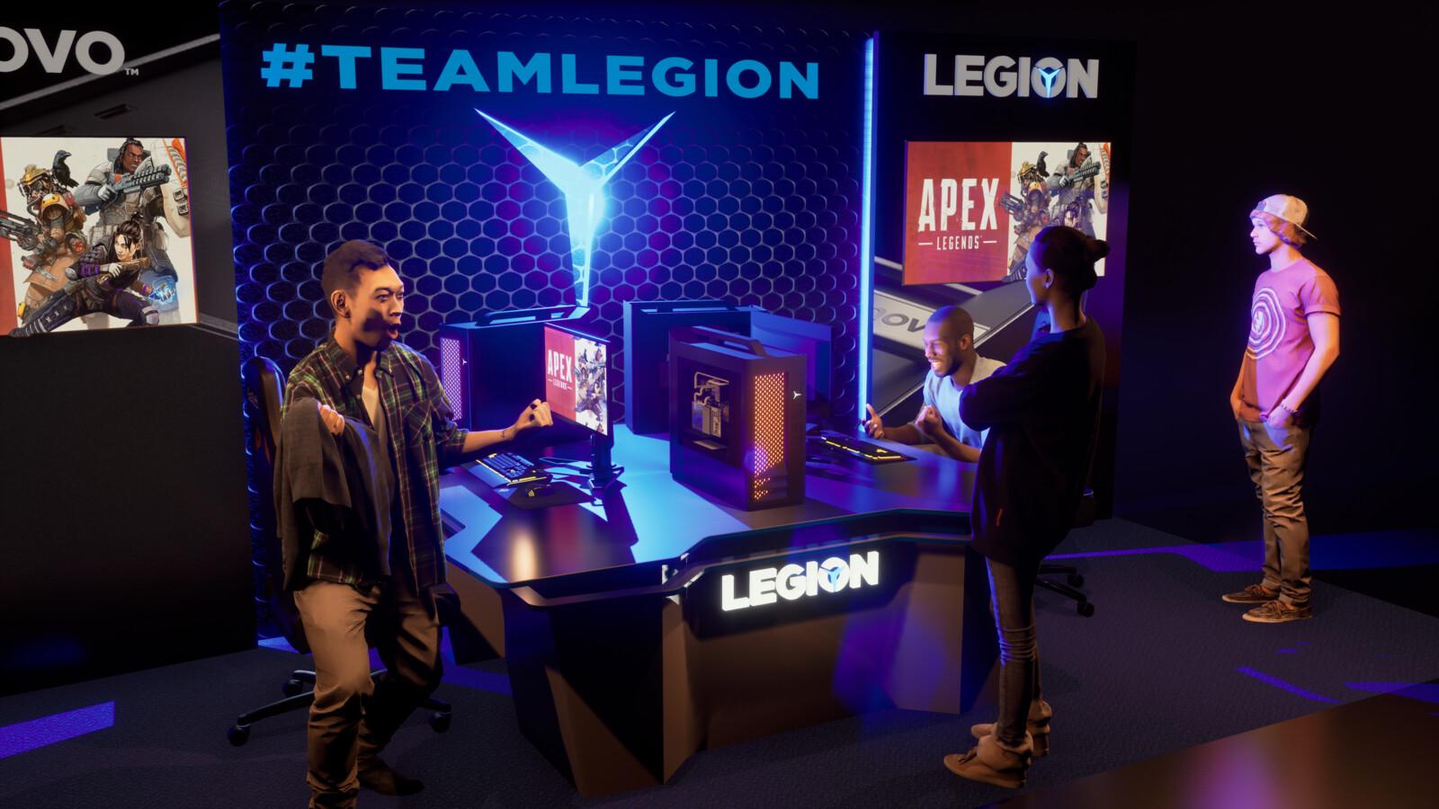 Lenovo Booth Concept