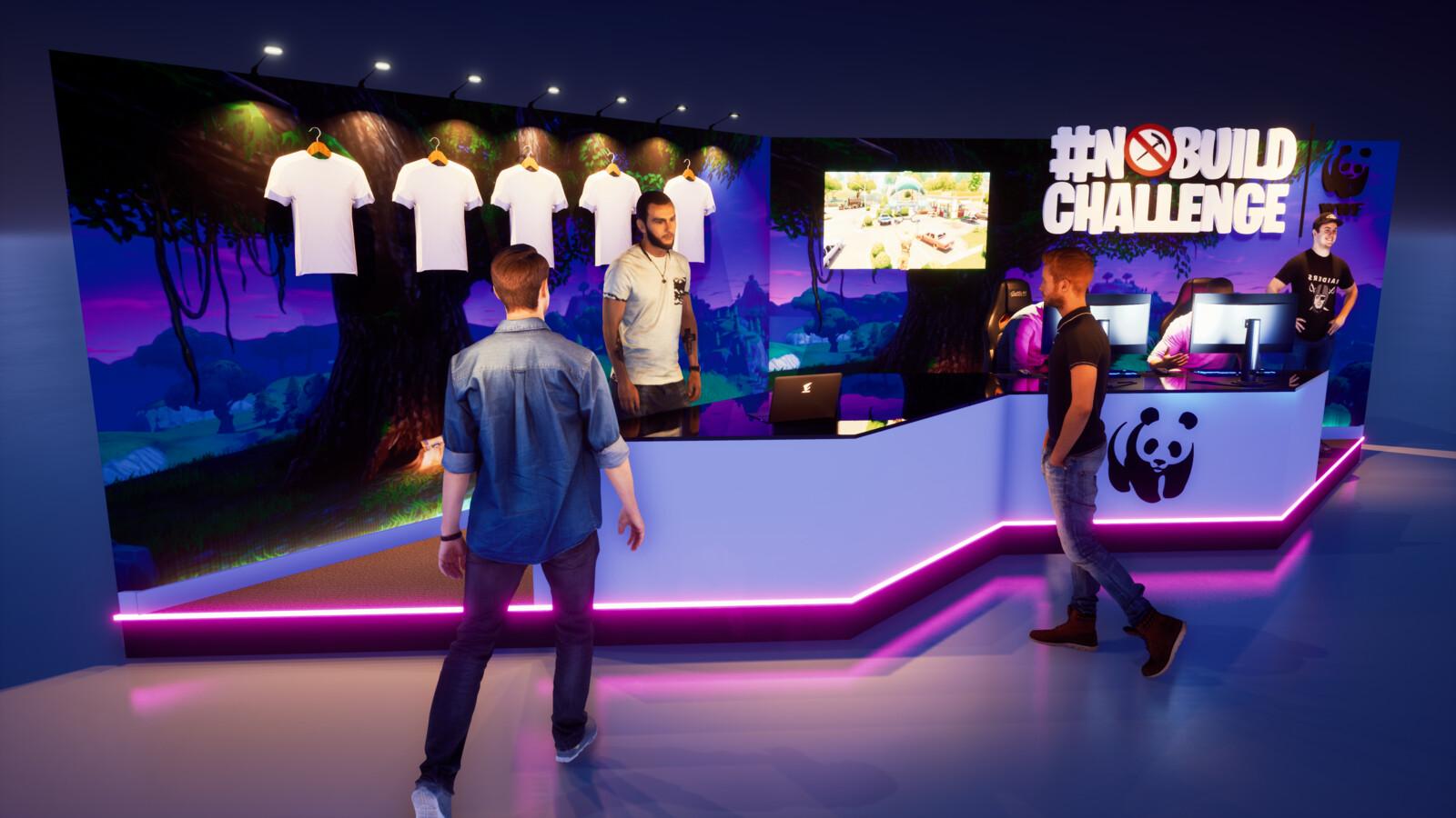 WWF Merch Booth @ Paris Games Week 2019