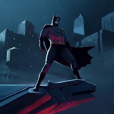 Nandor moldovan batman illustration nm 2020