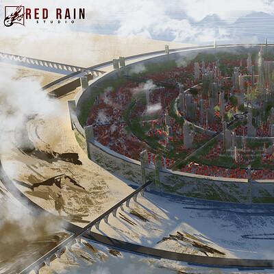 Redrain game studio capital city