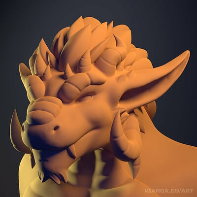 Magnus Renatus - Sculpted Bust