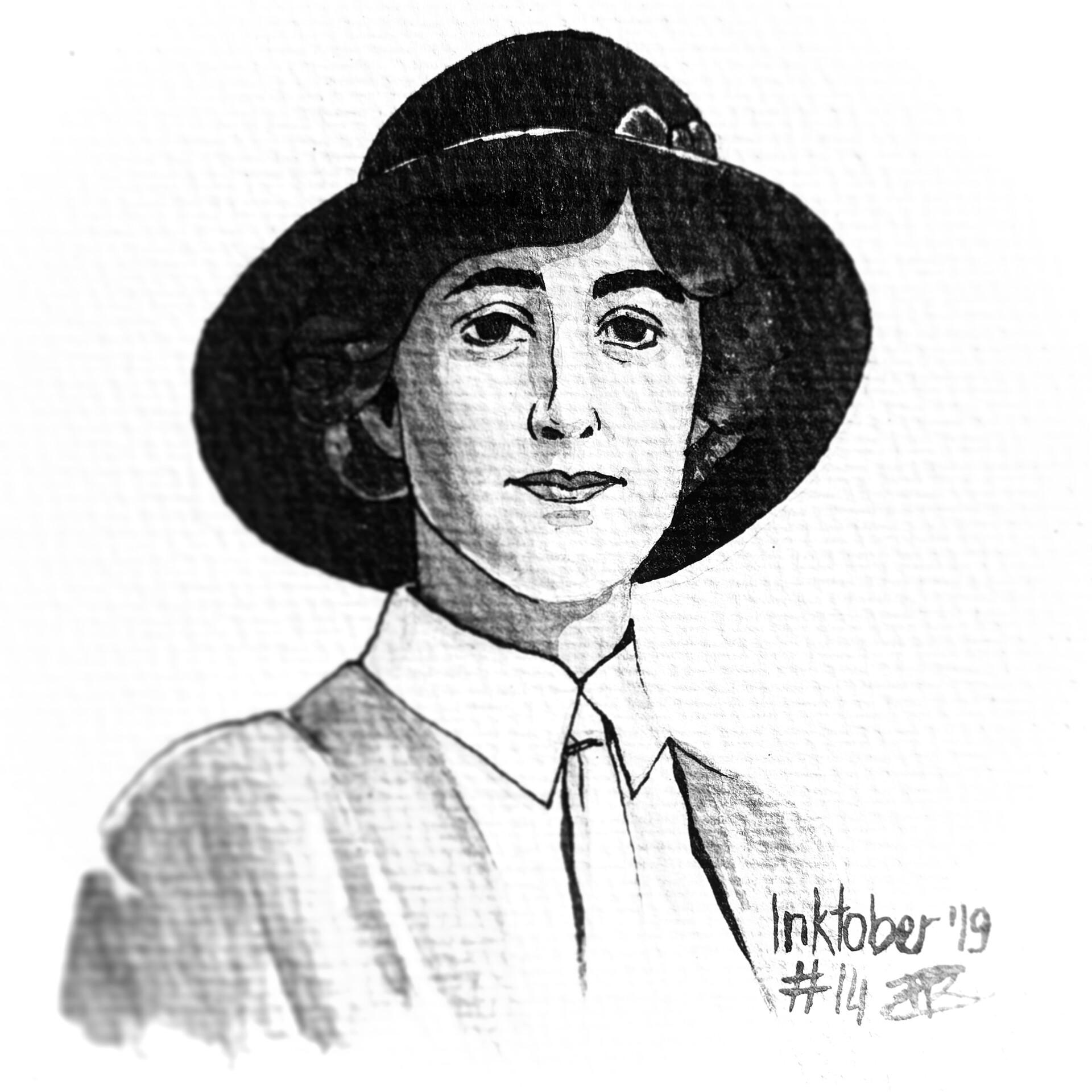 Agatha Christie - ink