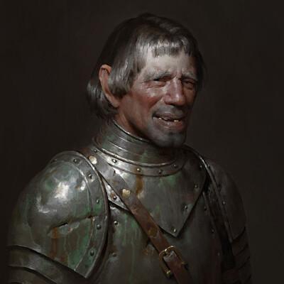 Anton solovianchyk medieval knight