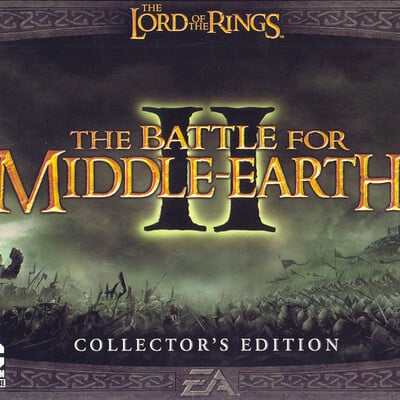 Darlene carrasquillo 64173 the lord of the rings the battle for middle earth ii collector s edition windows front cover
