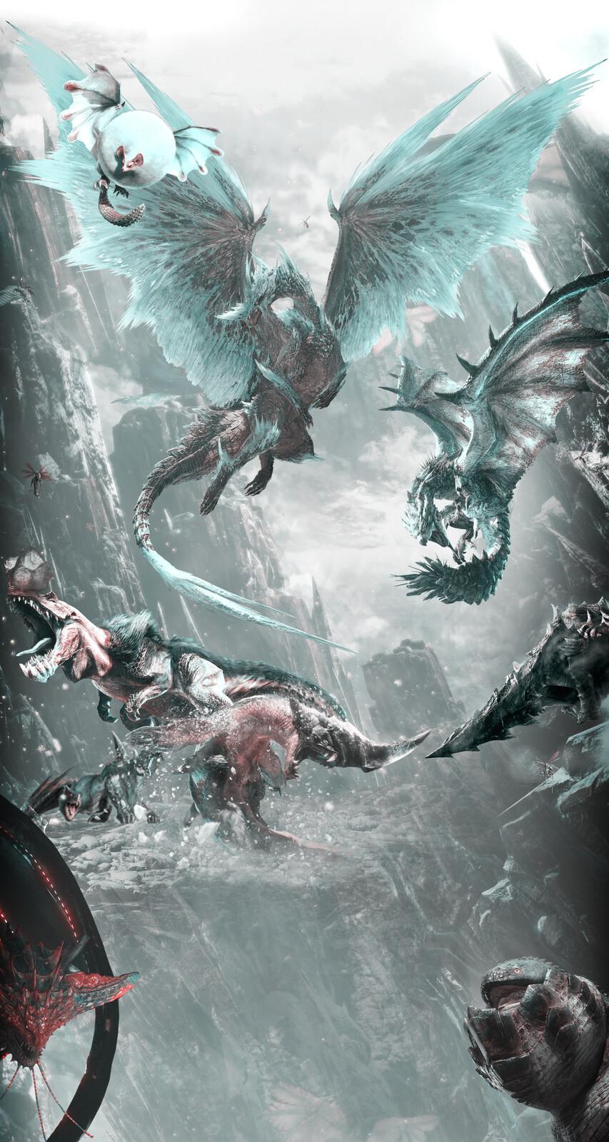 Artstation Monster Hunter World Mobile Wallpaper Tode Uslinkovski