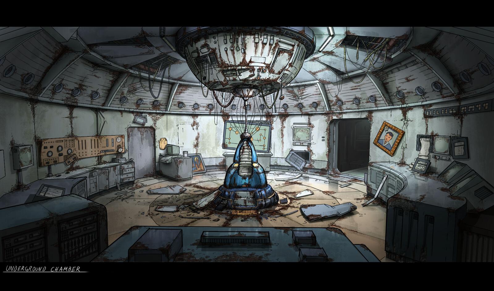 BEYOND A STEEL SKY: Underground Chamber