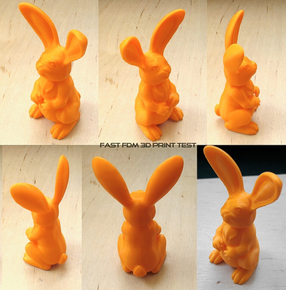 Fast FDM 3D Print Test
