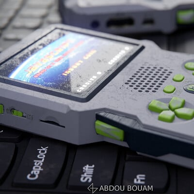 Hand-held console