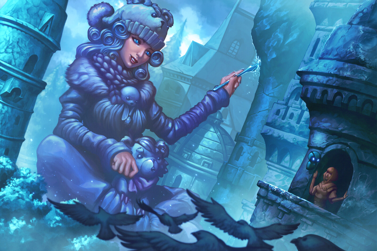 In the world of the Ice Queen