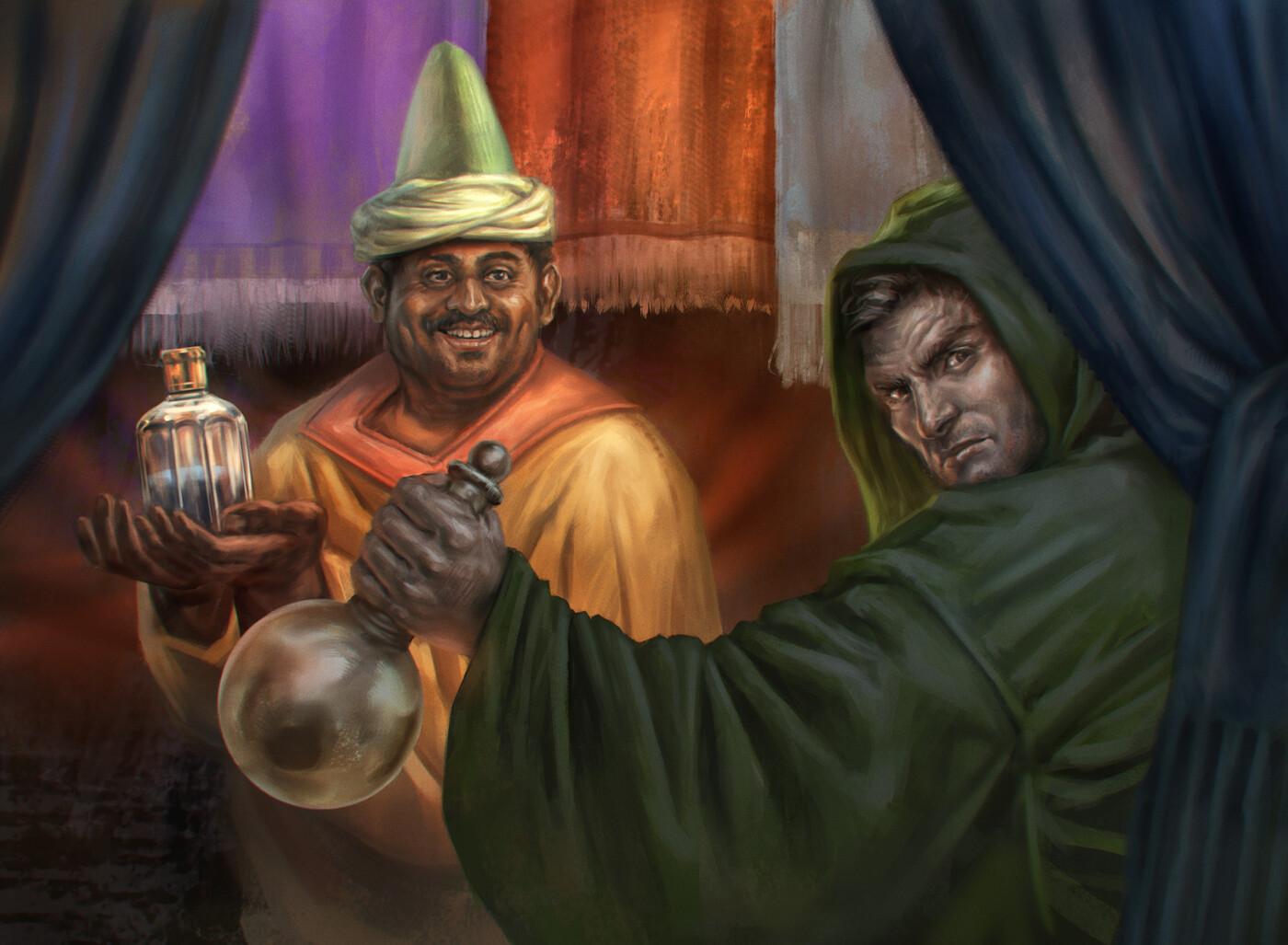 Ulchor's Agent | The City of Ulfast
