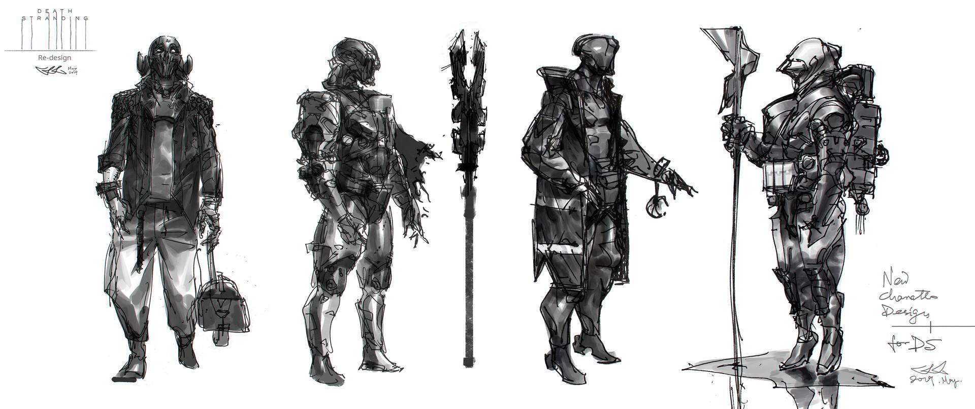 NPC character designs