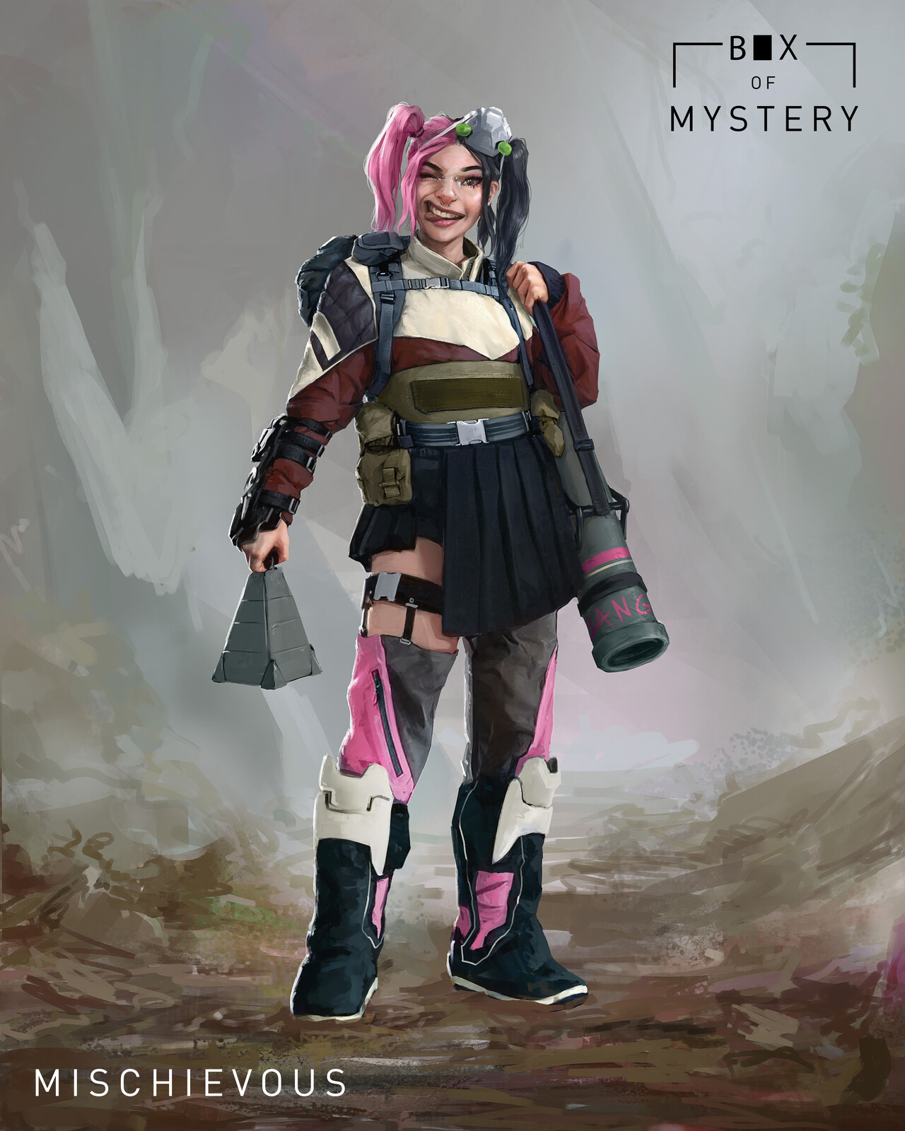 Challenge - Box of Mystery: Mischievous