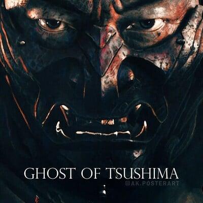 Andrew sebastian kwan ghost of tsushima poster eng var water mark web