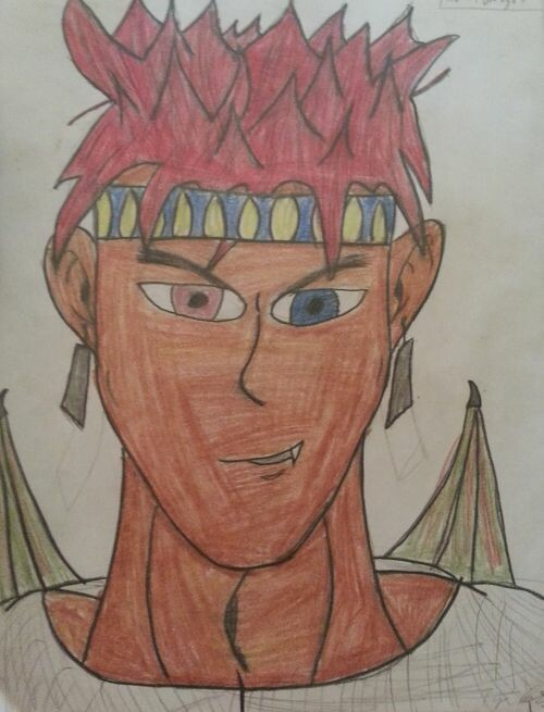 First drawing of Draegon