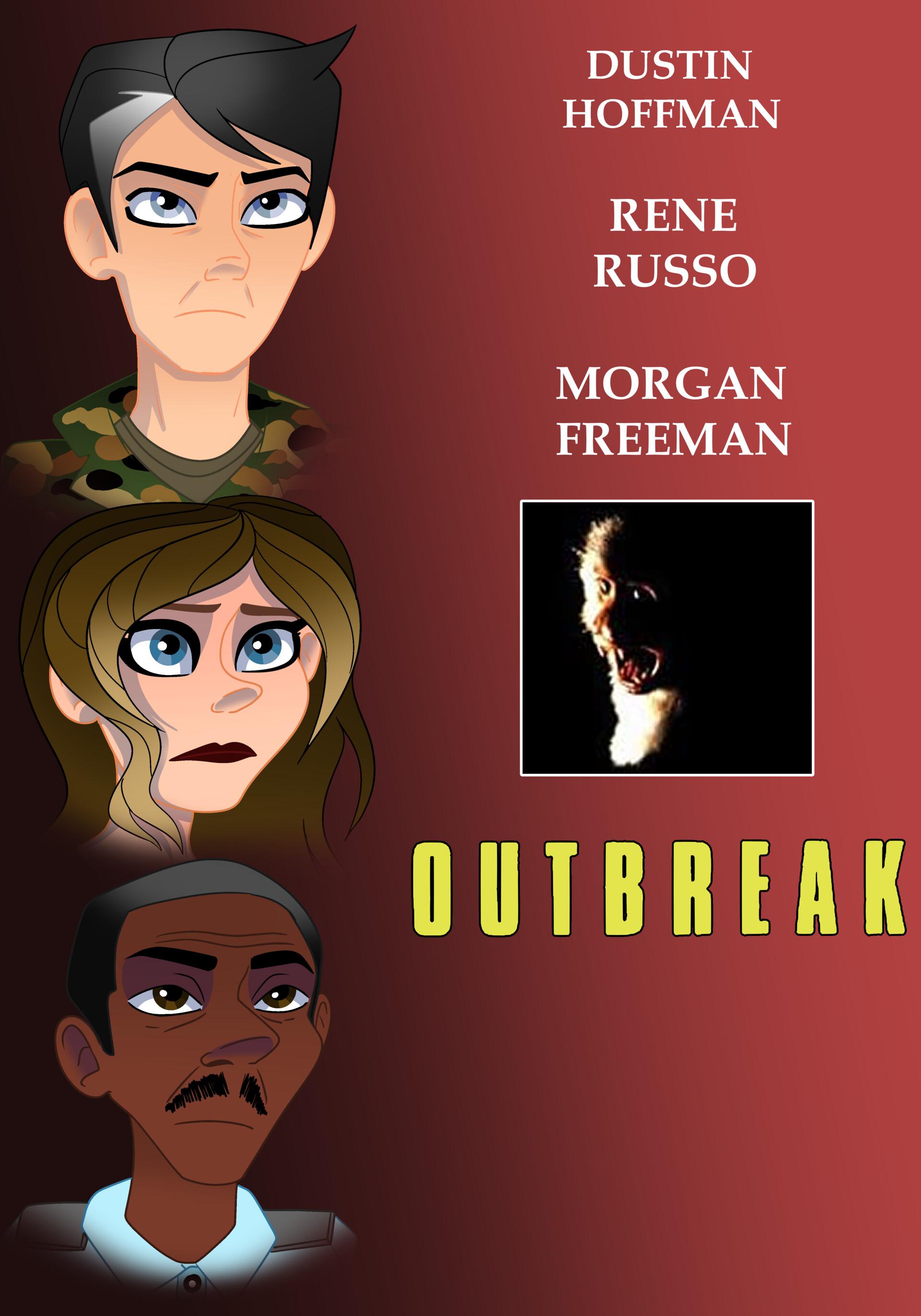 Artstation Outbreak 1995 Character Designs Casey George