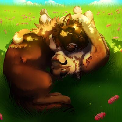 Kingsley wolf leo oscar nap