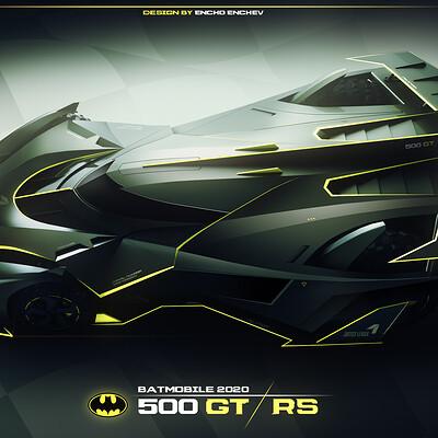 Encho enchev batmobile concept 1