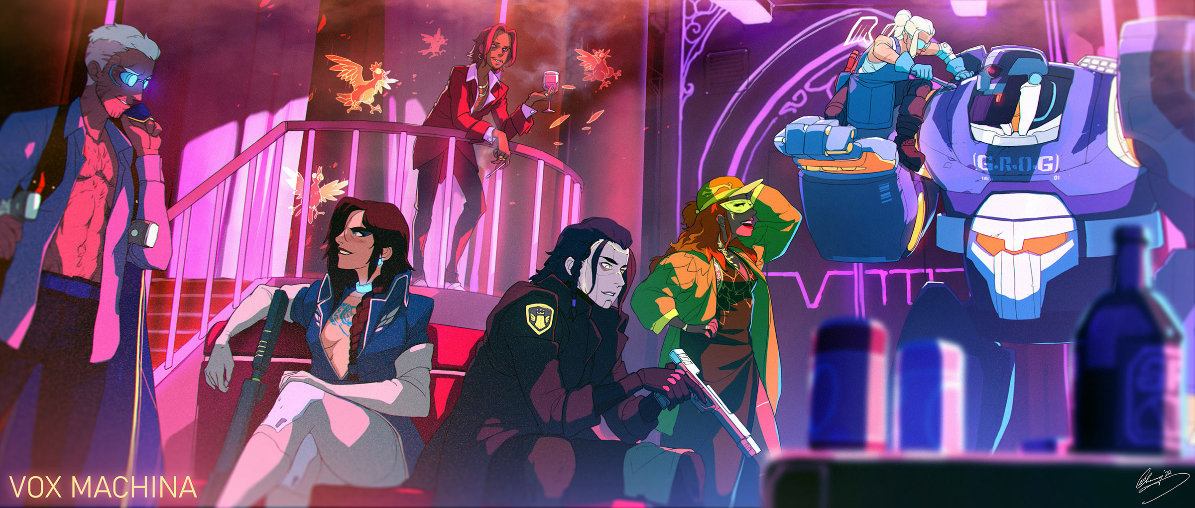 Artstation Critical Role Fan Art Another World Another Time Part I Ii Lap Pun Cheung This is a 11x17 print of my illustration featuring the entire cast of vox machina (+ matt) from the web series critical role! artstation critical role fan art
