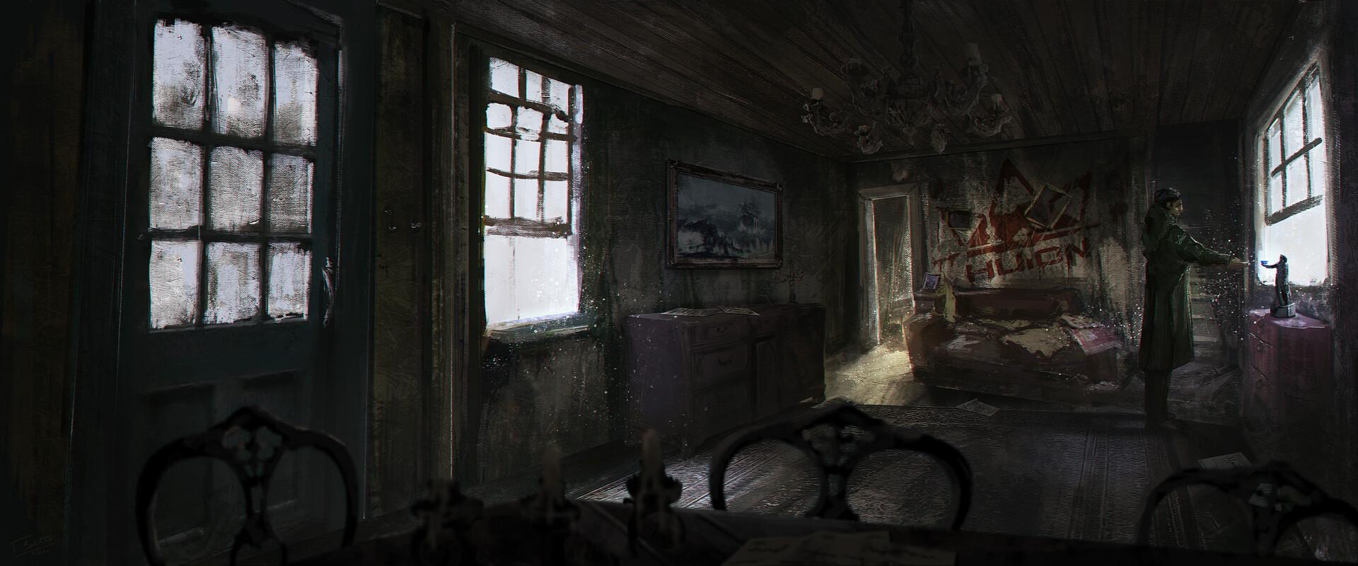 Huion abandoned house