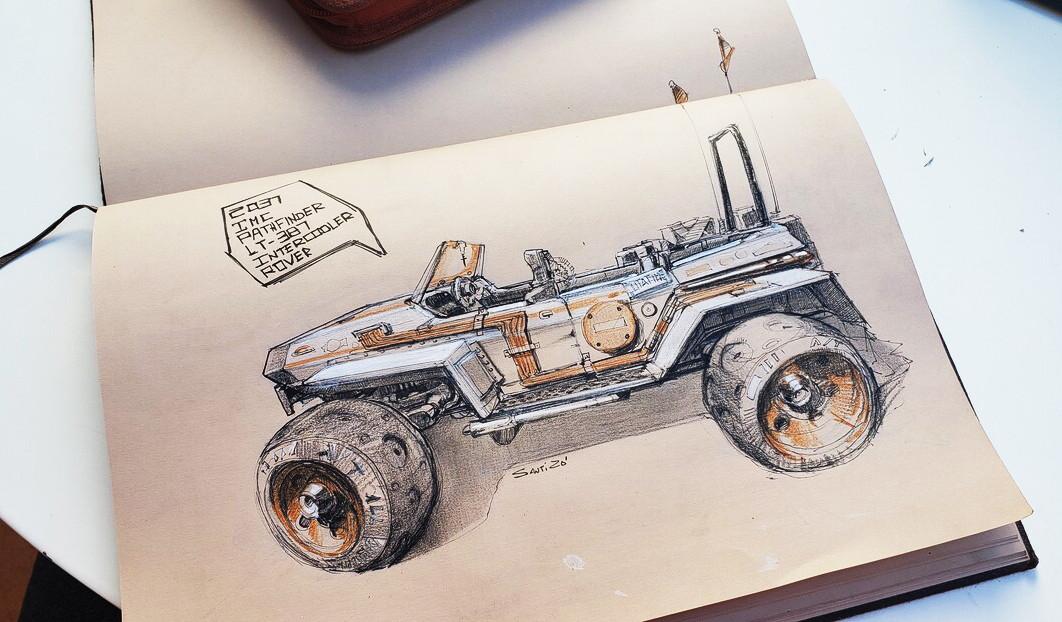 The LMC Rover sketch