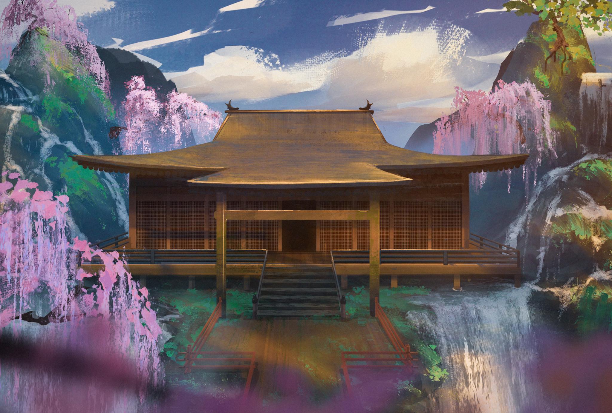 FanArt: Sekiro ( Fountainhead palace)