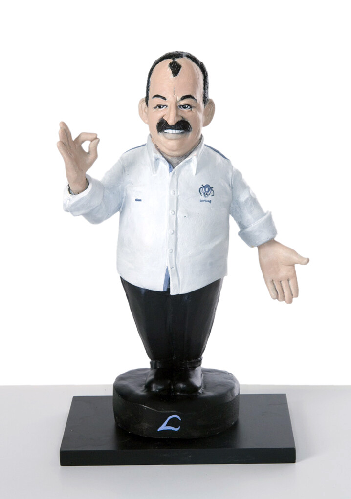 famous chef caricature