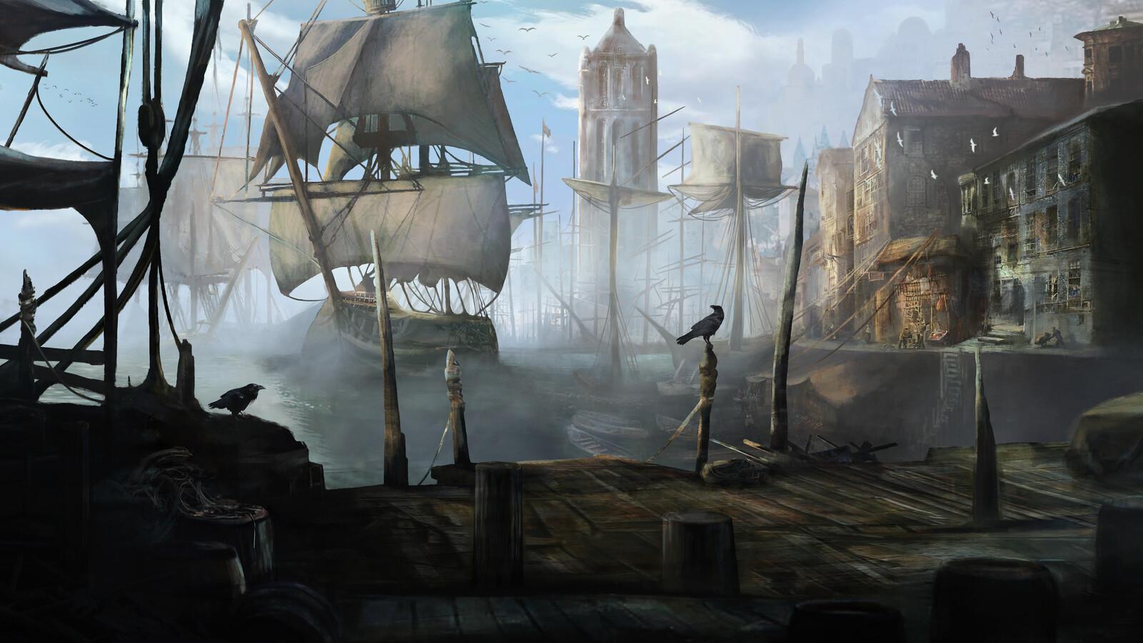 Port (Morning version) - Alchemy RPG