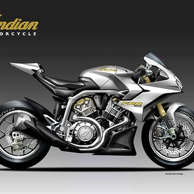 Oberdan bezzi indian frr 1200 concept