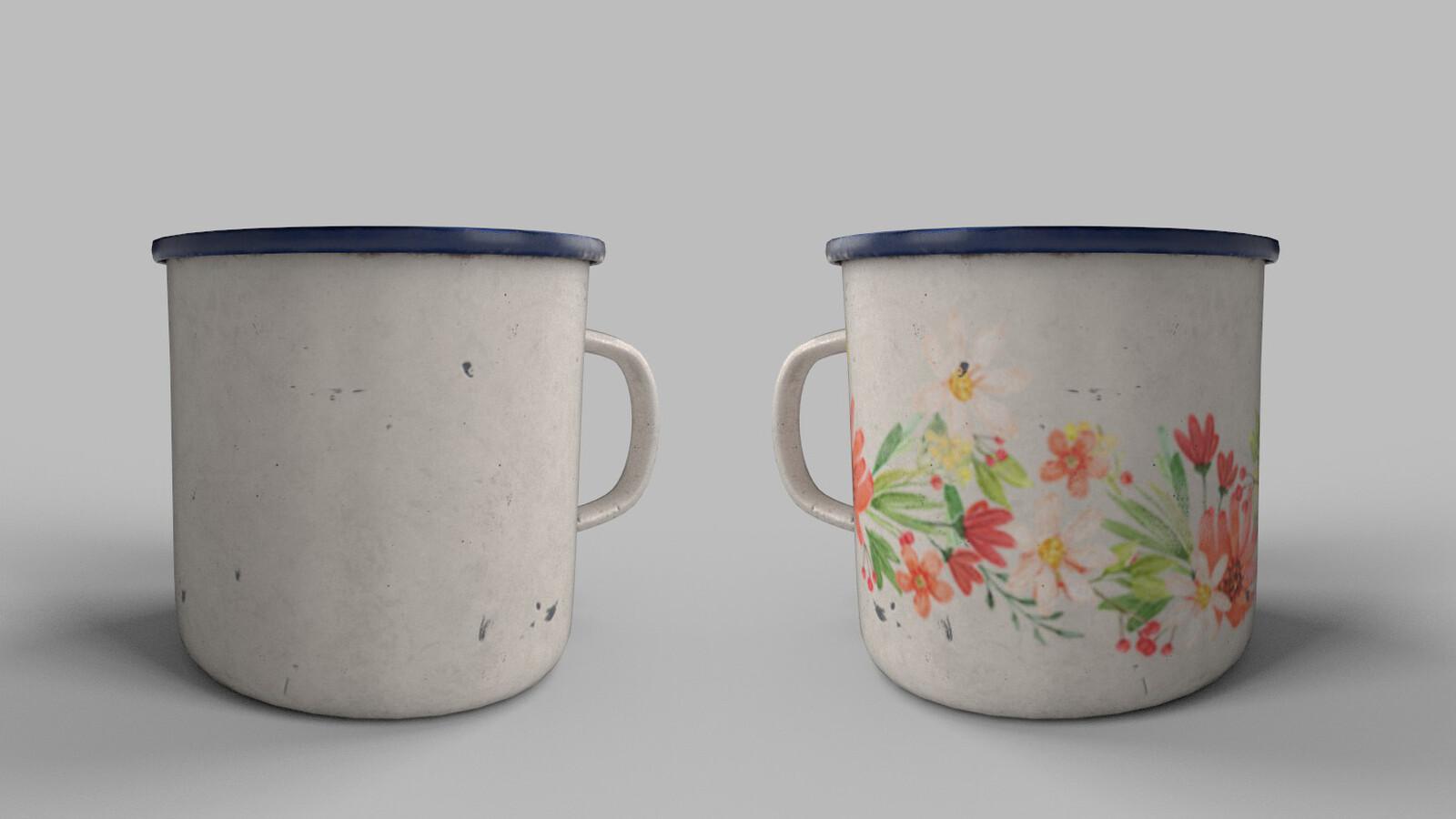 Cup Used Render