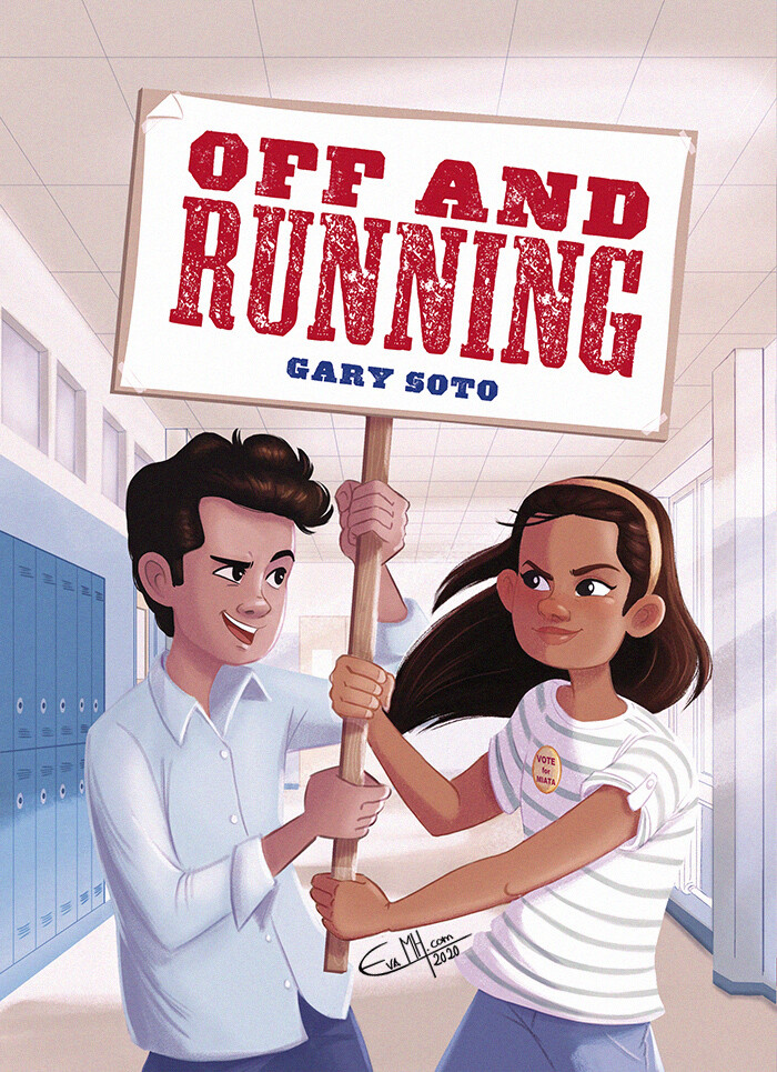 "New cover version for ""Off and Running"" by Scholastic Author: Gary Soto Publisher: ©Scholastic (2020)"