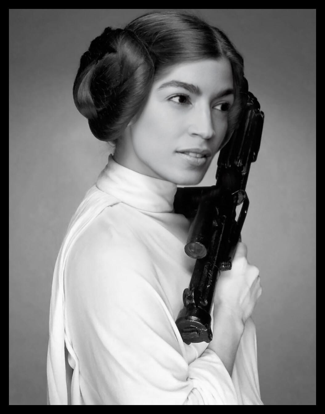 AOC into Princess Leia