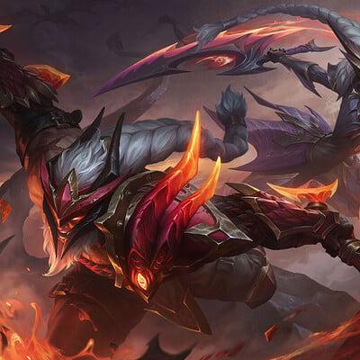 Xiaoguang sun dragon slayer olaf diana1