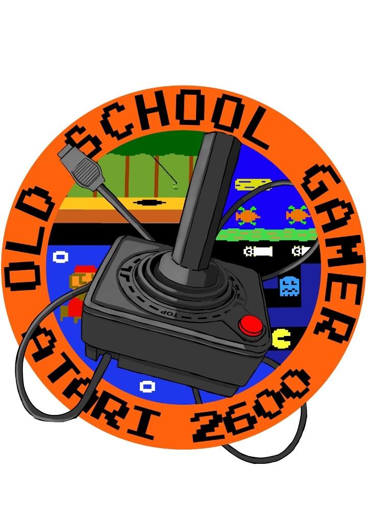 Old School Gamer Atari 2600