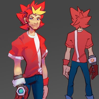 Spike Redesign - Ape Escape Fan Project